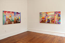 Bevan Shaw  World Of Forms Installation View