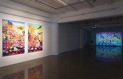 Bevan Shaw  Breathing in Beijing 呼吸北京  Installation View