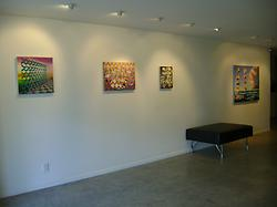 Bevan Shaw  Waiting Room Installation View
