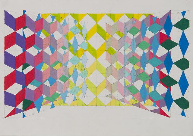 Bevan Shaw - Pattern Layer Study, 2013