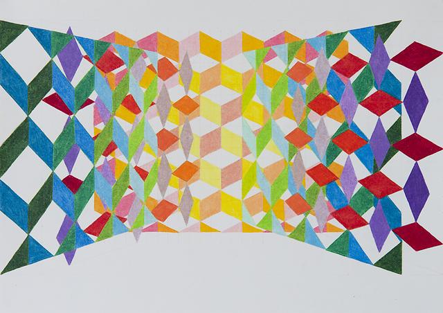 Bevan Shaw - Pattern Layer Study 2 (N+F), 2014