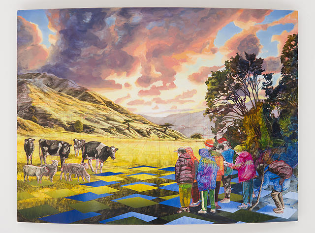 Bevan Shaw - NZ Landscape Encounter, 2016