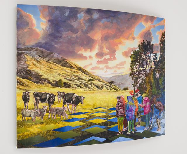 Bevan Shaw - NZ Landscape Encounter (three-quarter view), 2016