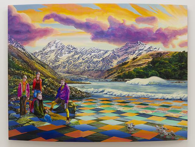 Bevan Shaw - NZ Landscape Memories, 2017